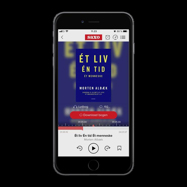 'Et liv, en tid, et menneske' af Morten Albæk - iphone