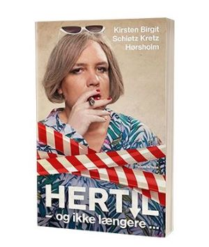 'Hertilog ikke længere' bogen af Kirsten Birgit