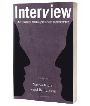 'Interview' af Steinar Kvale og Svend Brinkmann