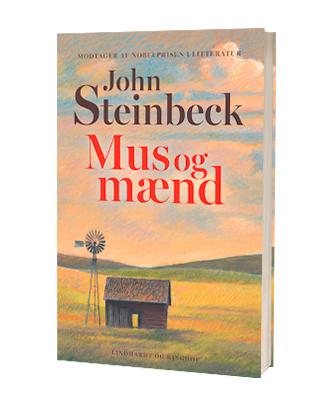 'Mus og mænd' af John Steinbeck