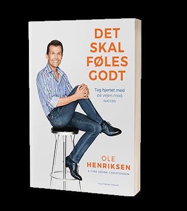 'Det skal føles godt' af Ole Henriksen