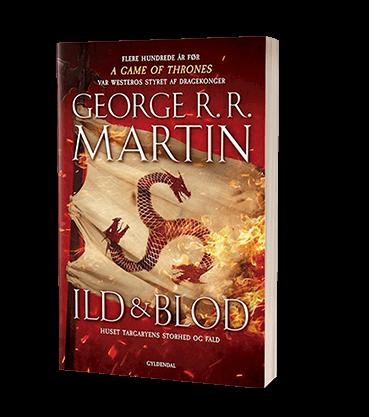 Bogen Ild og blod af George RR Martin