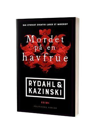 Bogen 'Mordet på en havfrue' af A.J. Kazinski og Thomas Rydahl