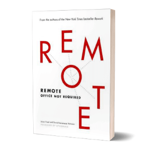 'Remote' af Jason Fried & David Heinemeier Hansson