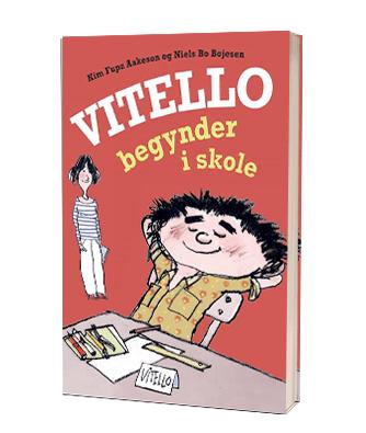 'Vitello begynder i skole' af Niels Bo Bojesen og Kim Fupz Aakeson