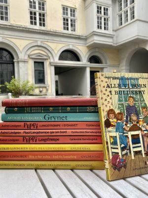 Pippi bøger i stak