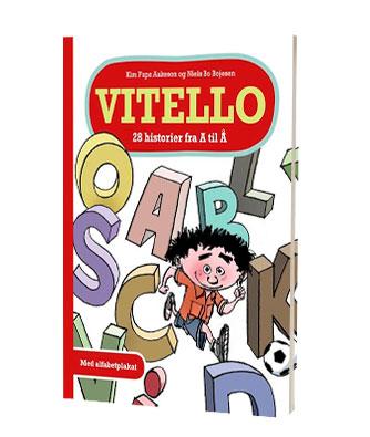 'Vitello - 28 historier fra A til Å' af Kim Fupz Aakeson