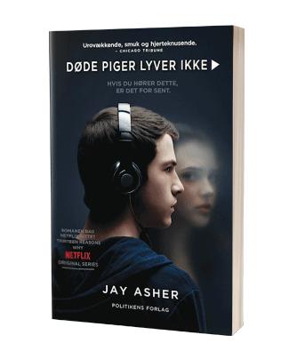 Bogen 'Døde piger lyver ikke' af Jay Asher