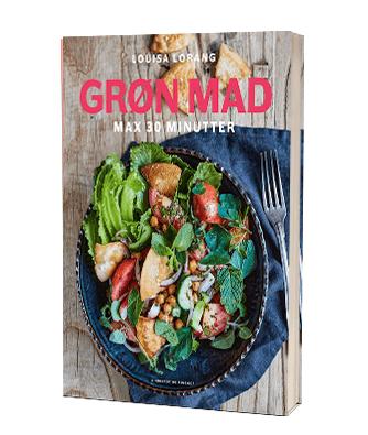 'Grøn mad på 30 minutter' af Louisa Lorang