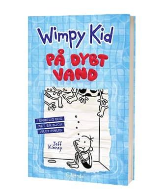 'Wimpy Kid 15 - På dybt vand' af Jeff Kinney