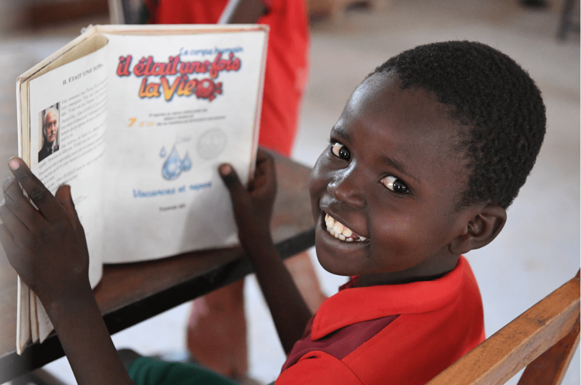 Saxo og Unicef - derfor er uddannelse vigtigt