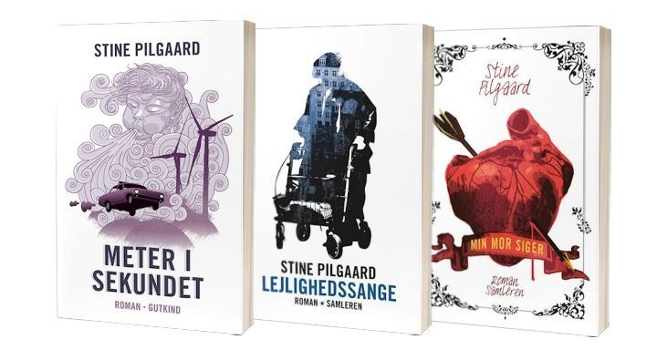 Stine Pilgaards bøger