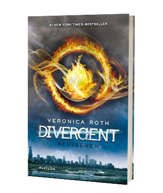 'Divergent afvigeren' af Veronica Roth