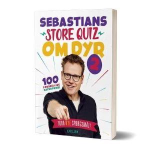 Bogen 'Sebastians store quiz om dyr 2' af Sebastian Klein