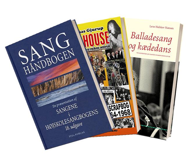Fagbøger om dansk musik