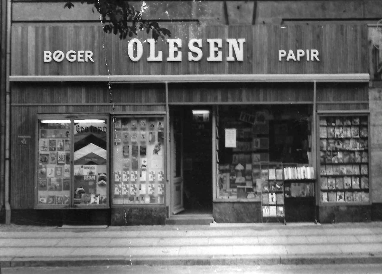 Saxos butik på Østerbrogade 200