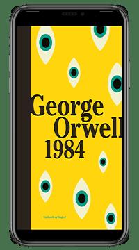 E-bogen '1984' af George Orwell