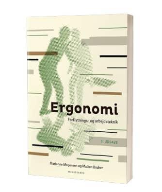 'Ergonomi – forflytnings- og arbejdsteknik' af Maiken Böcher & Marianne Mogensen
