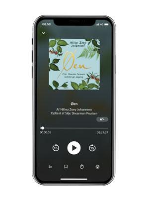 Lyt til 'Øen' med Saxo Premium