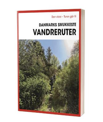 Bogen 'Turen går til Danmarks smukkeste vandreruter'