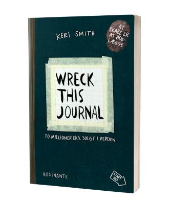 'Wreck This Journal' af Keri Smith - find bogen hos Saxo