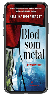 Krimien 'Blød som metal' af Asle Skredderberget