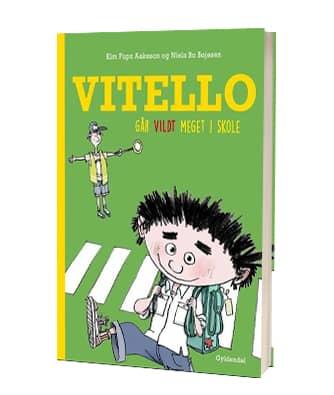 'Vitello går vildt meget i skole' 22. Vitello-bog af Kim Fupz Aakeson