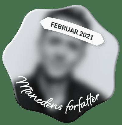 Se, hvem der er månedens forfatter hos Saxo i februar 2021