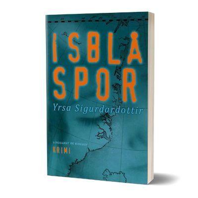 'Isblaa spor' af Yrsa Sigurdardottir