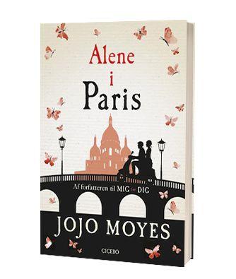 'Alene i Paris' af Jojo Moyes