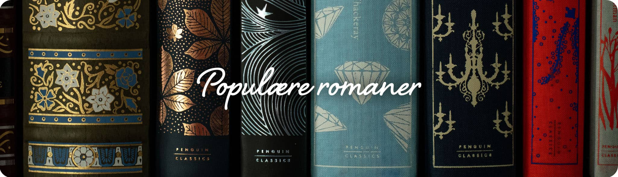 Tile bannere til populære romaner