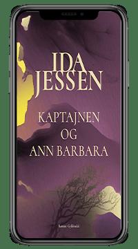 Bogen 'Kaptajnen og Ann Barbara' af Ida Jessen