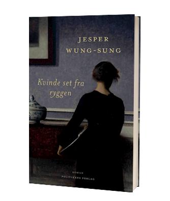 'Kvinde set fra ryggen' af Jesper Wung Sung - du finder bogen hos Saox