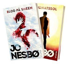 'Blod i sneen' og 'Midnatssol' af Jo Nesbø