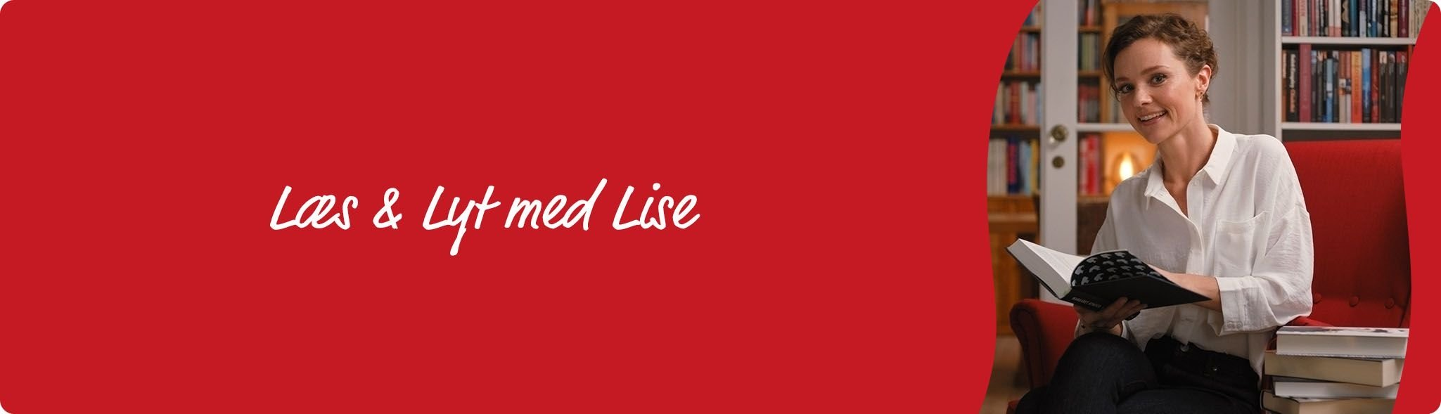 Læs og lyt med Lise - banner