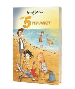 'De 5 ved havet' af Enid Blyton