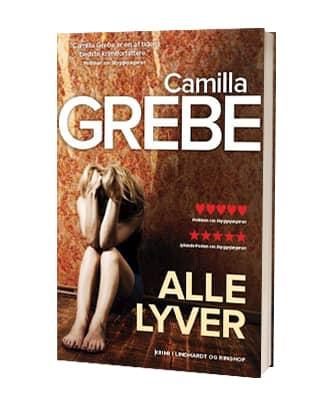 'Alle lyver' af Camilla Grebe - 5. bog i serien