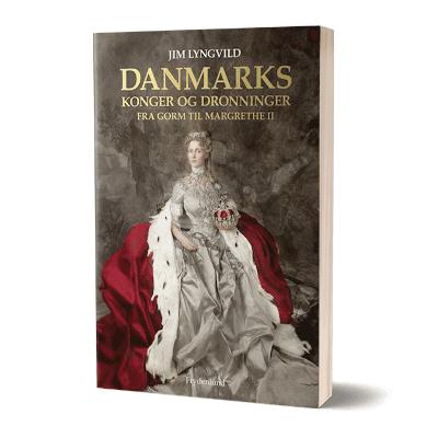 'Danmarks konger og dronninger' af Jim Lyngvild