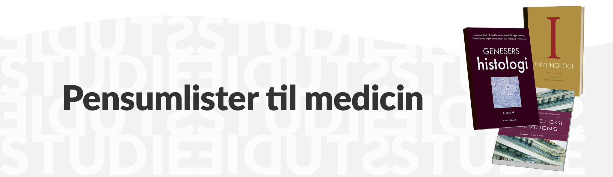 Pensumlister til medicin